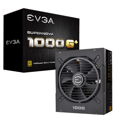 EVGA SuperNOVA 1000 G+, 80 Plus Gold 1000W