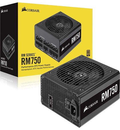Corsair RM750 — 750 Watt 80 PLUS® Gold