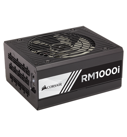 Corsair RM1000i — 1000 Watt 80 PLUS® Gold