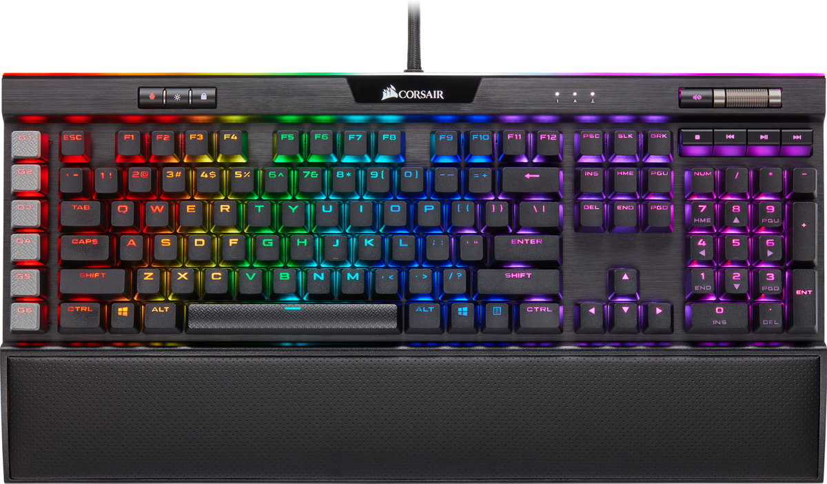 Corsair K95 RGB PLATINUM XT — CHERRY® MX Speed