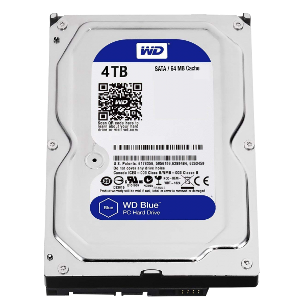 WD BLUE 3.5 64MB 6GB/s 4TB
