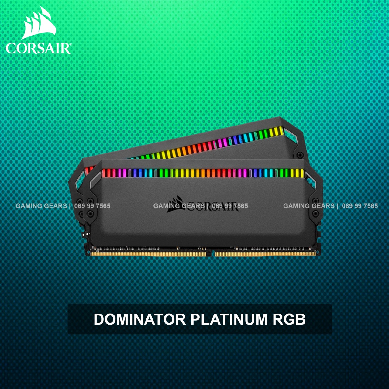 Corsair DOMINATOR® PLATINUM RGB 16GB (2x8GB) 3200MHz